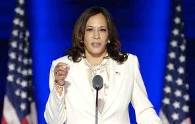 На фото: избранный вице-президент США Камала Харрис