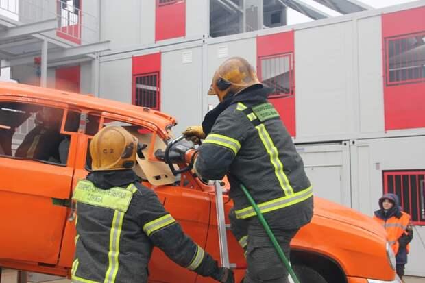 Аварийно-спасательная техника помогает сохранять жизни