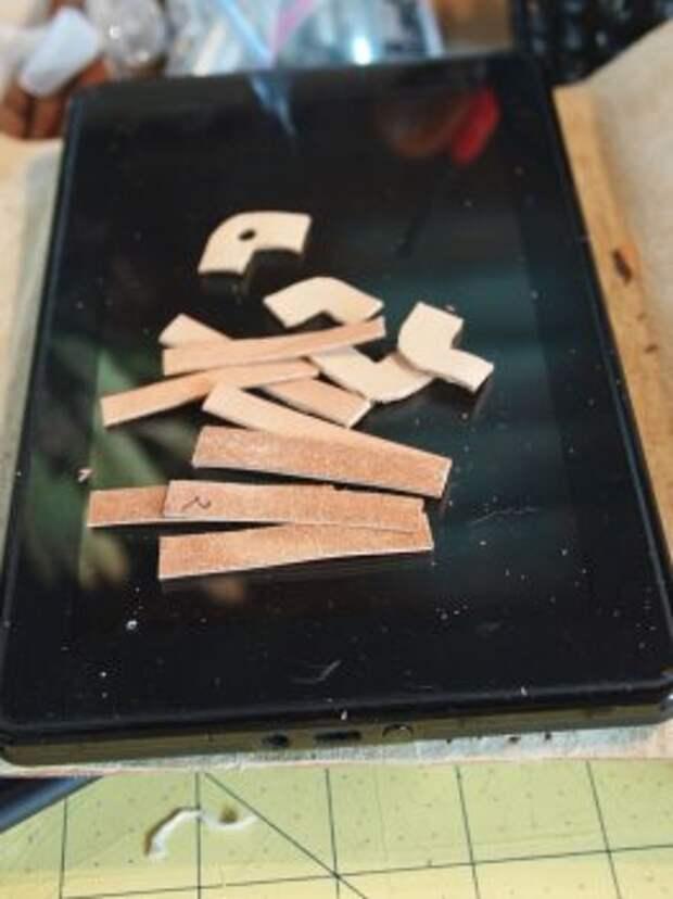 Кожаный чехол для планшета своими руками