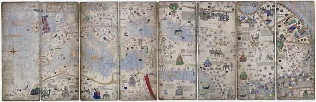 «Тут живут драконы»: что можно увидеть на средневековых картах мира