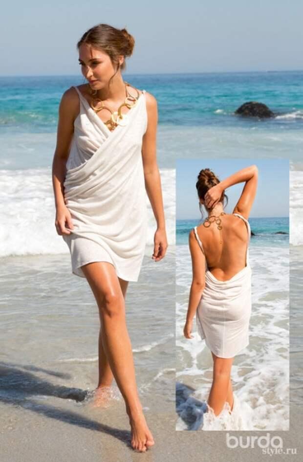 Платье-трансформер для летнего отдыха