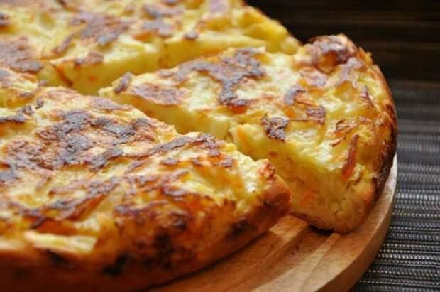 Пирог ШАРЛОТКА с капустой. Более чем удачный рецепт вкусного пирога