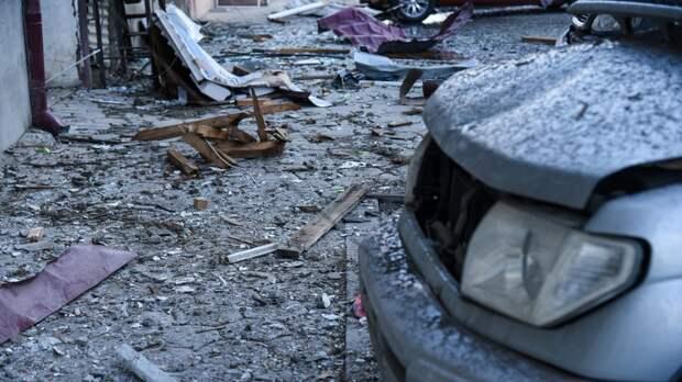 В Степанакерте обстреляли гражданские объекты