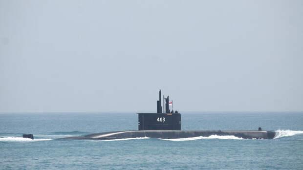 Подлодка ВМС Индонезии пропала без вести
