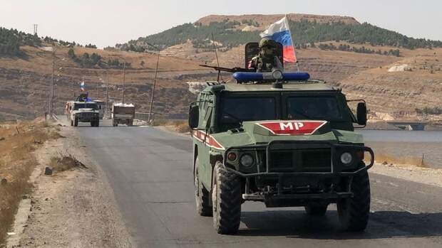 В Минобороны России прокомментировали столкновение патрулей РФ и США в Сирии