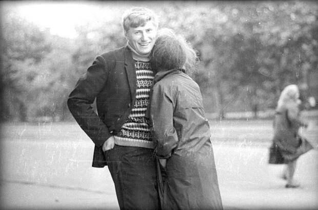 Он и она Виктор Ершов, 1971 год, Грузинская ССР, МАММ/МДФ.