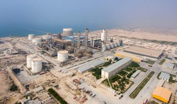 Крупнейшее вмире производство метанола пущено вИране