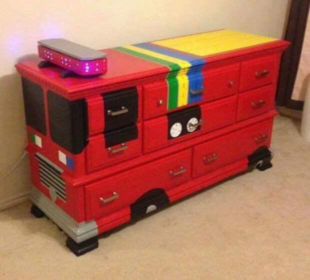 Детская мебель на колесах