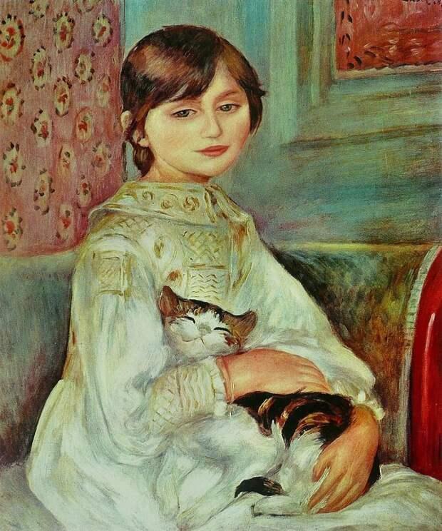 8 знаменитых художников, вдохновленных котами