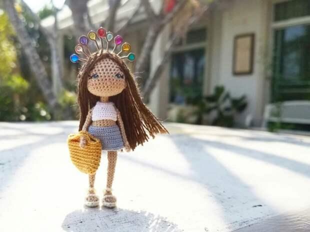 Вязаные куколки Maria Karaeva