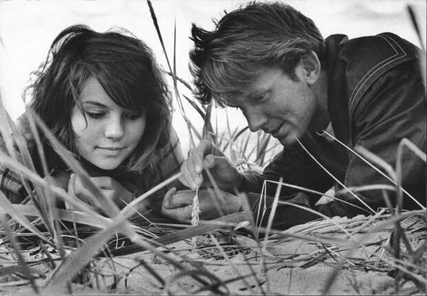Двое на острове Дмитрий Воздвиженский, Нина Свиридова, 1965 год, Эстонская ССР, МАММ/МДФ.