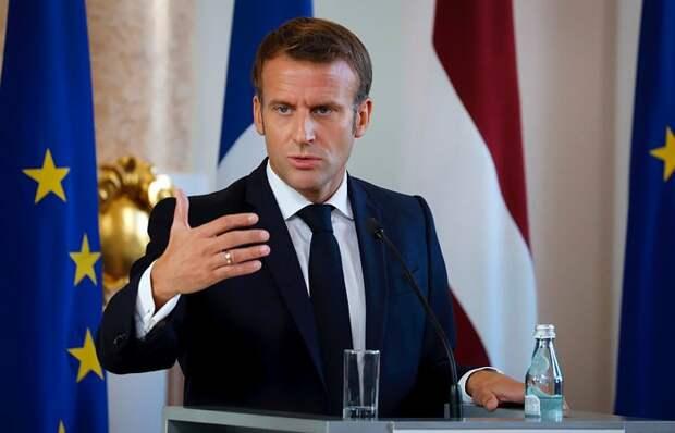 Макрон сетует о необходимости усиления границ зоны Шенгенского соглашения
