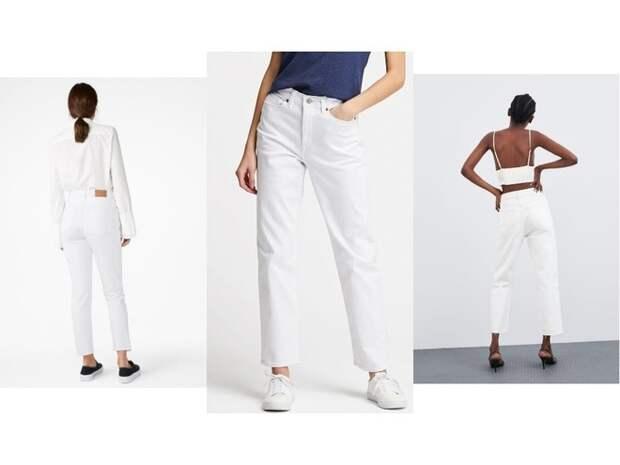 Всего одни джинсы на весну — белоснежные (фото 1)