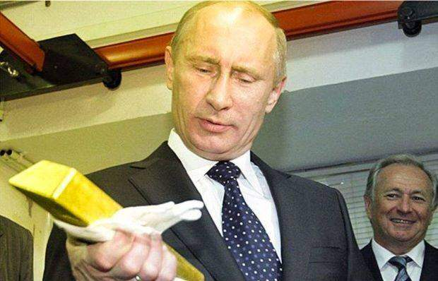 У русских что ни слово, то золото