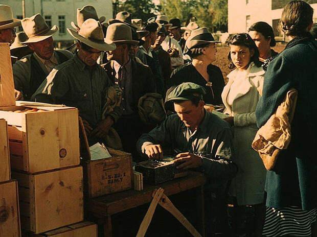 Америка во время первого экономического кризиса