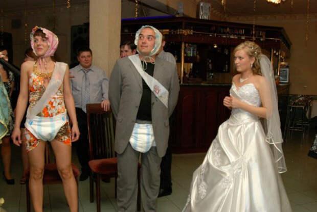 Что за свадьба без конкурсов? | Фото: flipiety.gq.