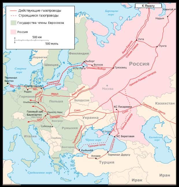 В США признают бесполезность санкций против «Северного потока — 2»