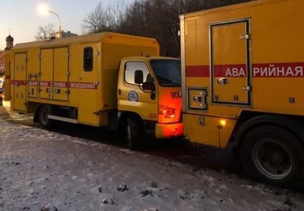 Аварию теплоцентрали на Челобитьевском шоссе ликвидировали за несколько часов