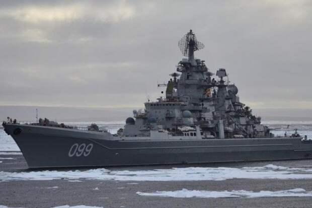 Россия заблокировала иностранные военные корабли в акватории Северного морского пути.