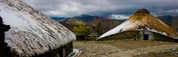 Palloza-houses