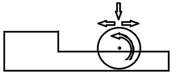 схема приспособление для вырезания шаров из пенопласта