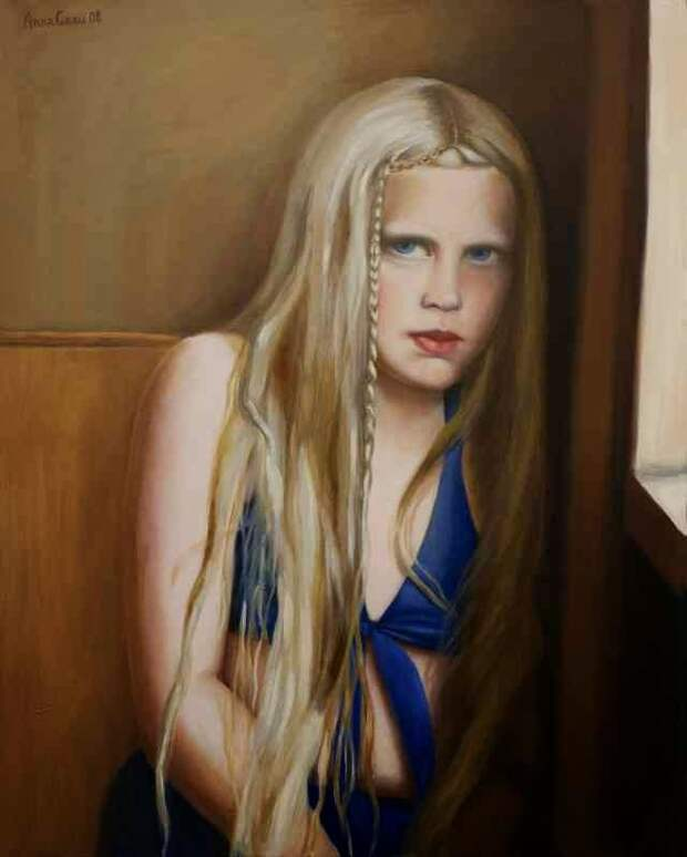 Женщина - это символ. Anna Grau