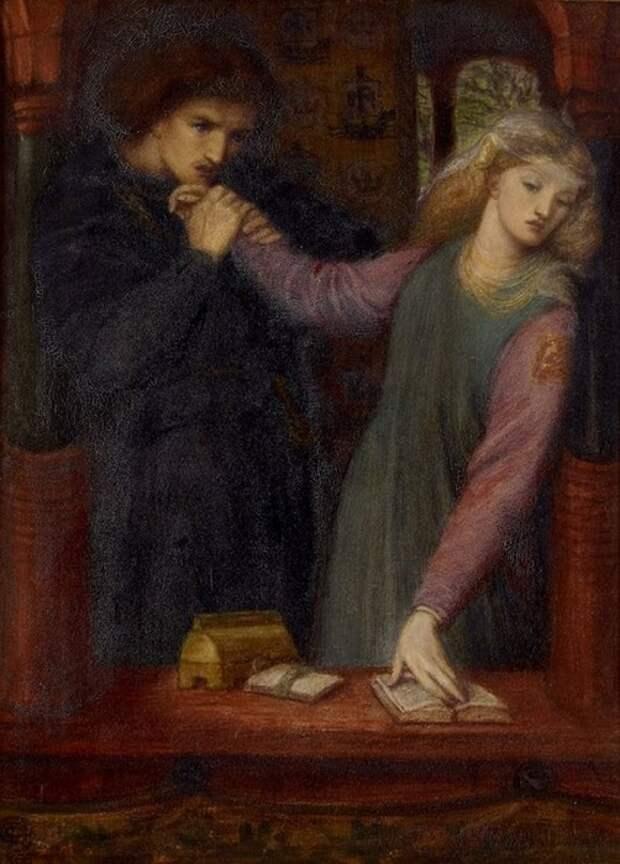 Картина Данте Габриэля Россетти.