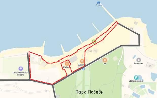 Что установят и посадят на набережной парка Победы в Севастополе