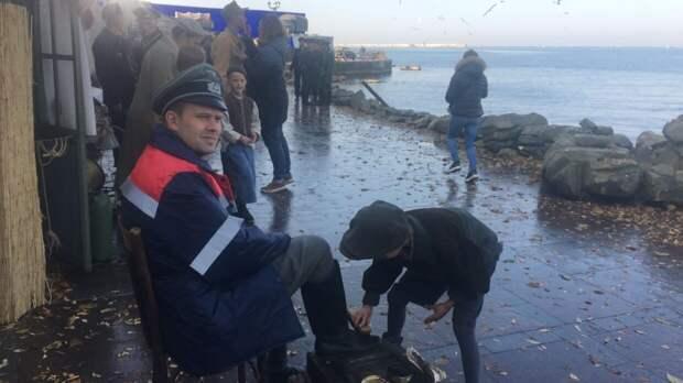 Актеры поделились восторженными впечатлениями о съемках сериала «Диверсант» в Крыму