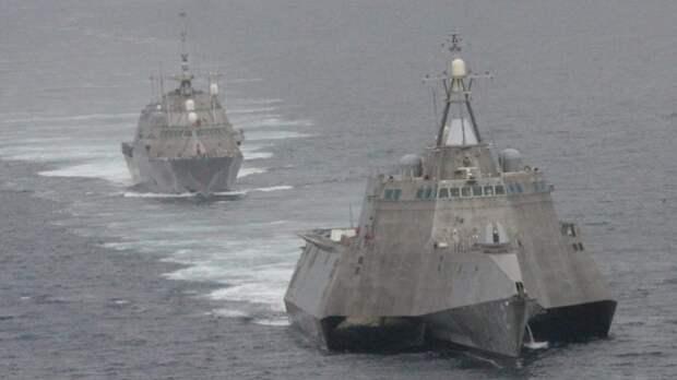 Новый скандал в США: боевые корабли, на которые возлагались большие надежды превратились в металлолом