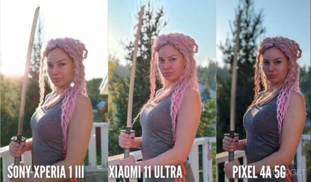 Сравним качество съемки камер смартфонов Sony, Xiaomi и Google Pixel