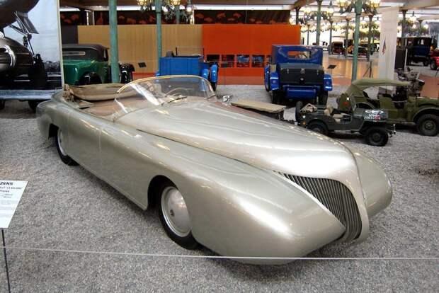 """L' ARZENS кабриолет """"LA BALEINE"""" DE 1938 автомир, аэродинамика, из прошлого, конструкция, обтекаемость. формы"""