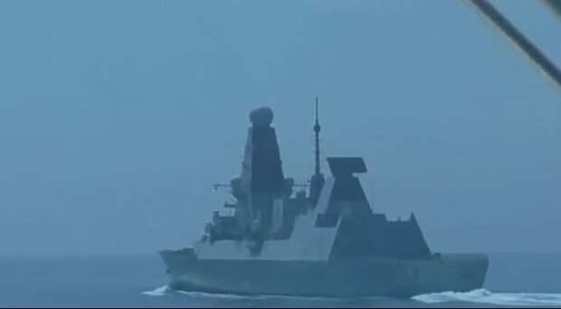 Песков заявил, что за провокацией с британским эсминцем в Чёрном море стоят США