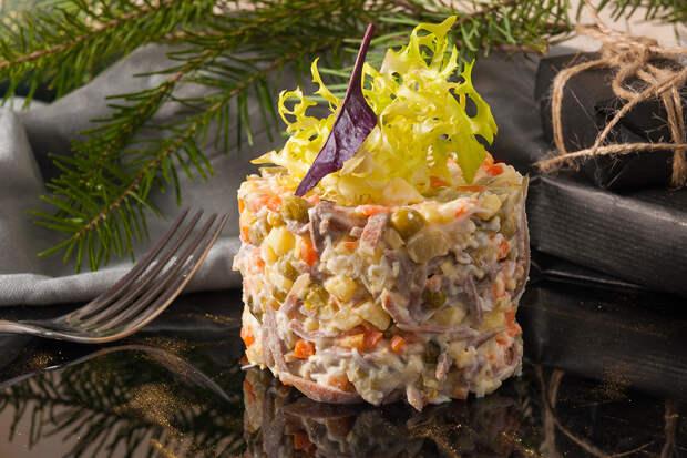 Нестандартные рецепты главного новогоднего салата
