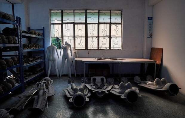 Уникальная экскурсия по китайской фабрике секс-кукол WMDOLL, Секс-куклы, девушки из силикона, необычное производство, фабрика, фото, фоторепортаж, экскурсия на завод