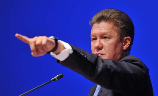 Миллер Газпром Северный поток 2
