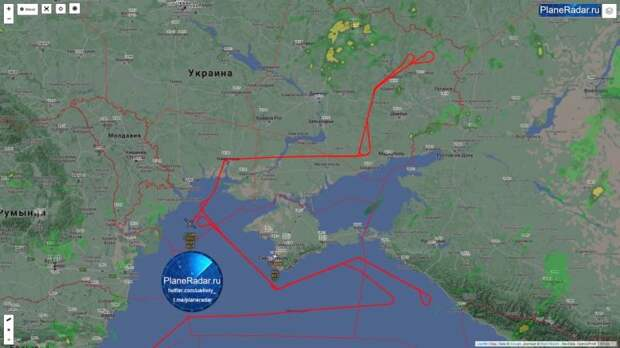 Беспилотник США вторгся в закрытое российскими военными воздушное пространство близ Крыма
