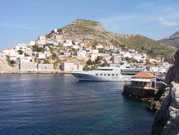город без автомобиля Греция