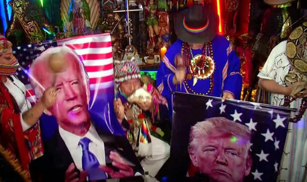 Колдуны из Перу решили помочь Байдену в борьбе против Трампа