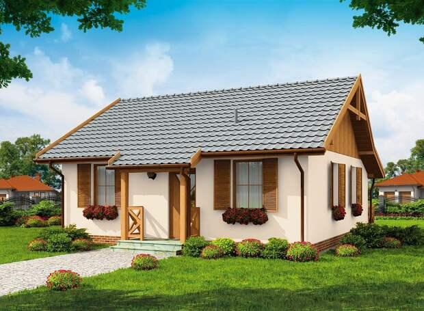 Технология и стоимость строительства небольшого дома для двоих