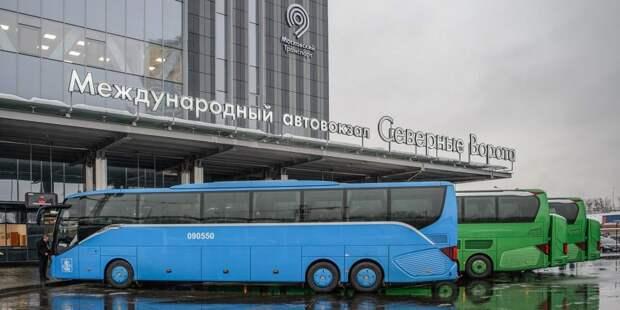 Регулярные рейсы в Великий Новгород запустили с автовокзала «Северные ворота»