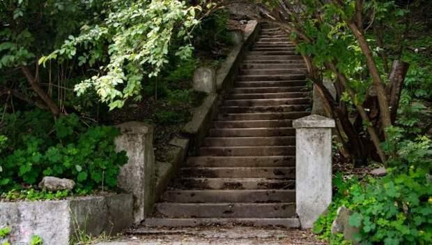 Большая инвентаризация: в Симферополе считают лестницы