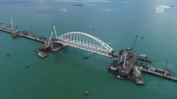 Предложен метод защиты Крымского моста от диверсантов