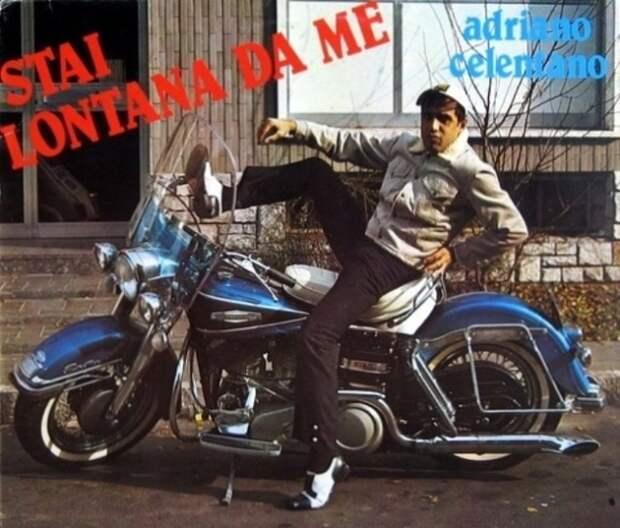 Адриано Челентано и его мотоцикл из СССР