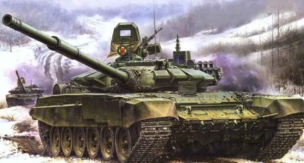 Российский танк Т-72