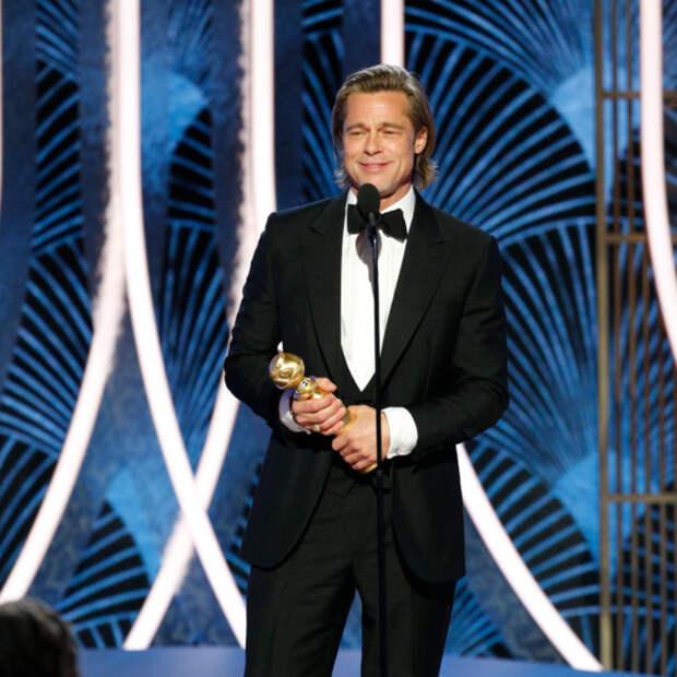 Хоакин Феникс и Брэд Питт стали лучшими актёрами на «Золотом глобусе»