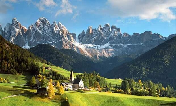 лучшие горы для туристов