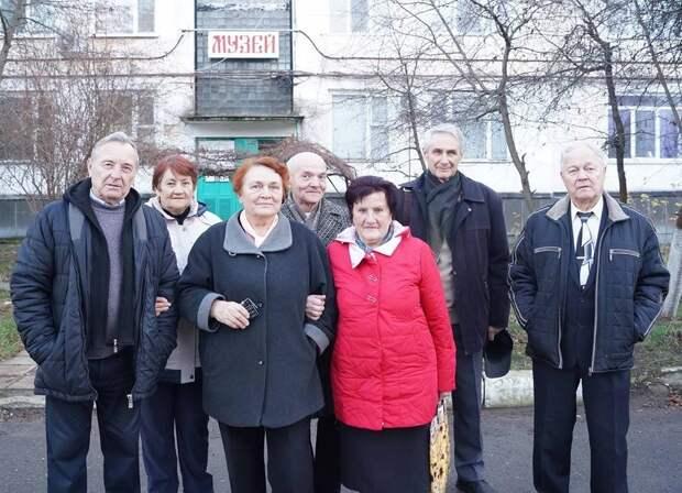 с. Восход выставка Веры Роик в музее колхоза Россия