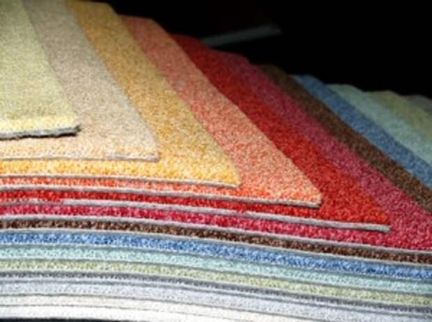 Напольное покрытие ковролин