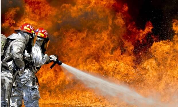 Севастопольские пожарные ликвидировали страшную аварии на ЧАЭС
